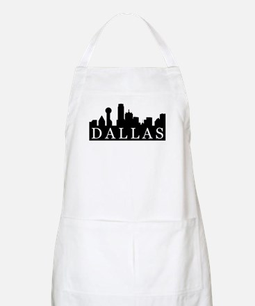 Dallas Skyline BBQ Apron