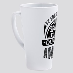 Auditor 17 oz Latte Mug