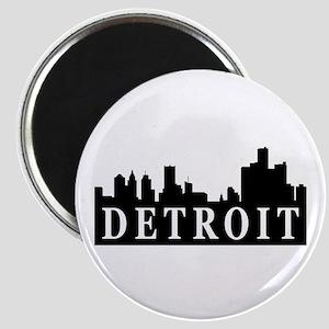 Detroit Skyline Magnet