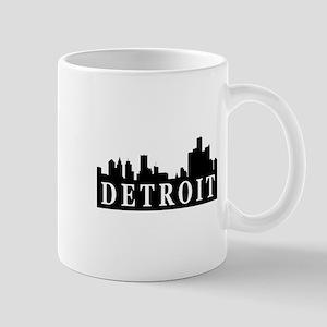 Detroit Skyline Mug