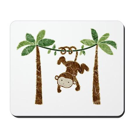 silly monkey Mousepad