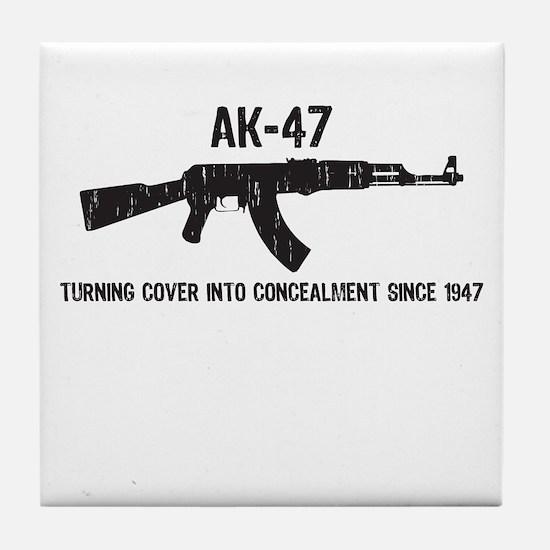 AK-47 Tile Coaster