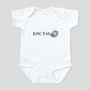 Epic Fail d20 Infant Bodysuit