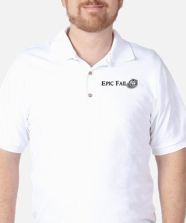 Epic Fail d20 Golf Shirt