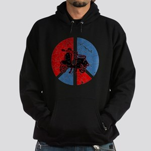 Peace Out Scooter Hoodie (dark)