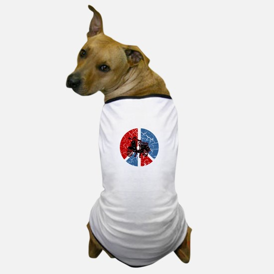 Peace Out Scooter Dog T-Shirt