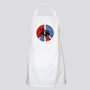 Peace Out Scooter BBQ Apron
