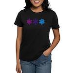Snowflakes Women's Dark T-Shirt