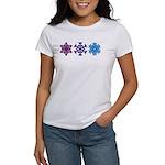 Snowflakes Women's T-Shirt