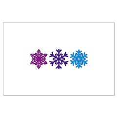 Snowflakes Posters