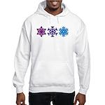 Snowflakes Hooded Sweatshirt