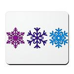 Snowflakes Mousepad