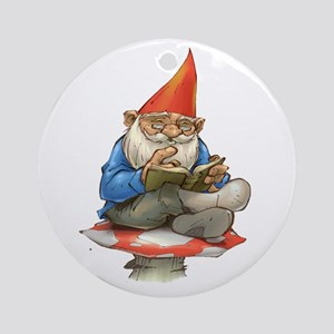 Gnome Ornament (Round)