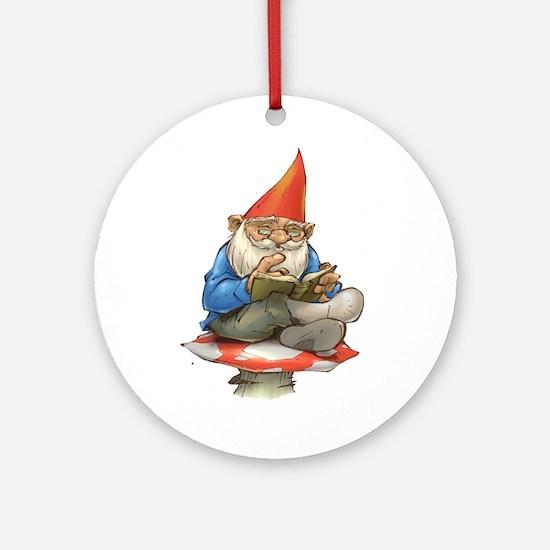 Gnome Ornament (Round)