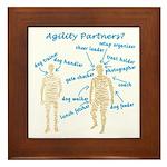 Agility Partners Framed Tile