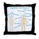 Agility Partners Throw Pillow