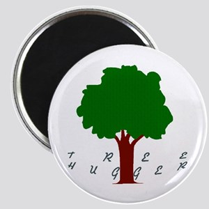 Big Cat's Tree Hugger Magnet