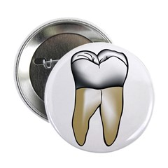 """Tooth 2.25"""" Button"""