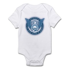People's President Infant Bodysuit