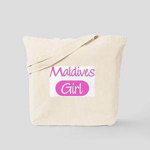 Maldives girl Tote Bag