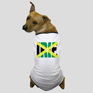 Jamaica Flag Irie Dog T-Shirt