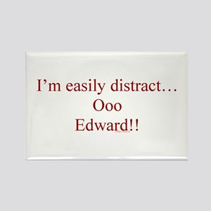 ~Distracted Edward 001~ Rectangle Magnet