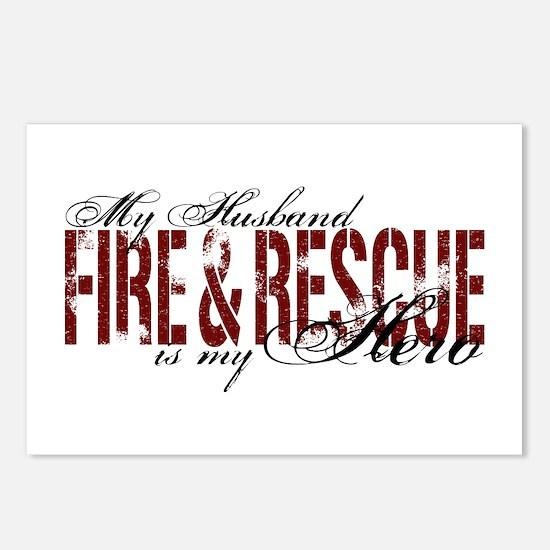 Husband My Hero - Fire & Resue Postcards (Package
