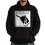 I love the smell of race gas - Hoodie (dark)