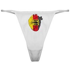 Heart Germany Classic Thong