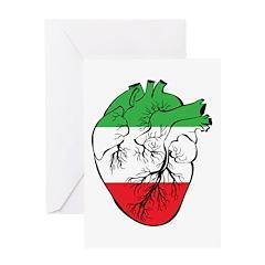 Heart Italy Greeting Card