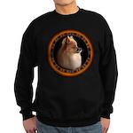 Pomeranian Dog Sweatshirt (dark) Small Dog Gifts
