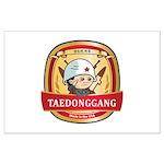 Taedonggang (TDG) Beer Logo Large Poster