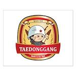Taedonggang (TDG) Beer Logo Small Poster