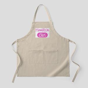 Hamilton girl BBQ Apron