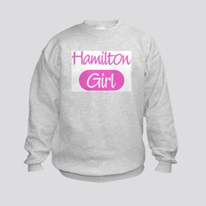 Hamilton girl Kids Sweatshirt