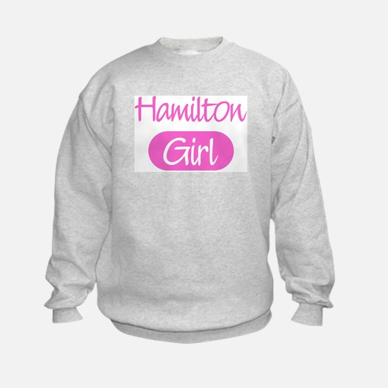 Hamilton girl Sweatshirt