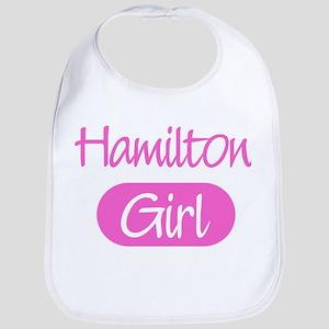 Hamilton girl Bib