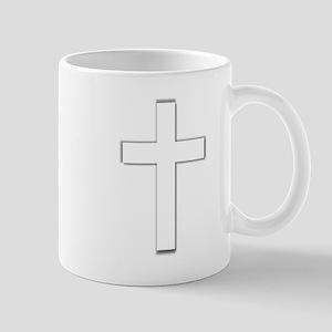 Simple Cross Mug