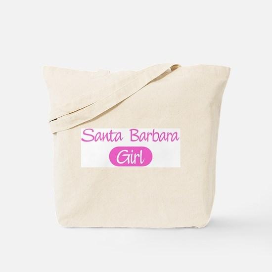 Santa Barbara girl Tote Bag