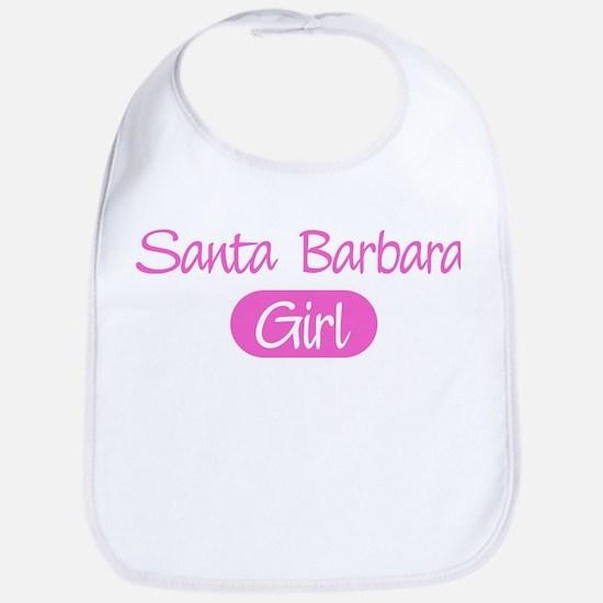 Santa Barbara girl Bib