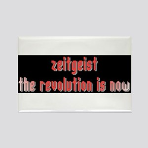 Zeitgeist The Revolution is N Rectangle Magnet