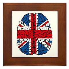 Brain Britain Framed Tile