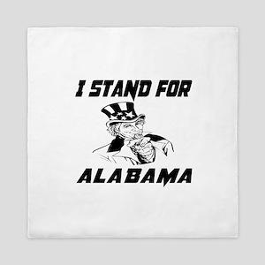 I Stand For Alabama Queen Duvet