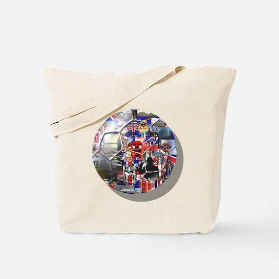 British Culture Football Tote Bag