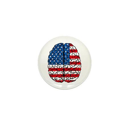 Brain USA Mini Button (100 pack)