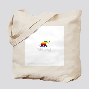 Think, period. Tote Bag