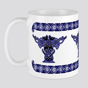 Hounds of Finn #2 Celtic Knotwork Mug