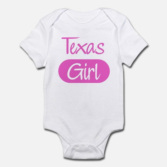 Texas girl Infant Bodysuit