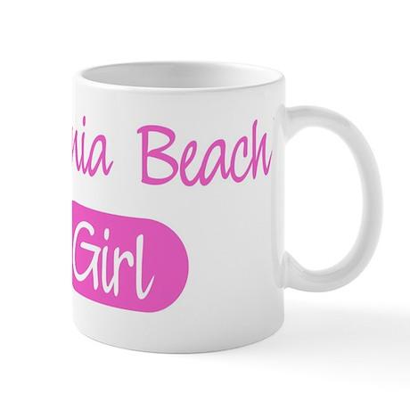 Virginia Beach girl Mug