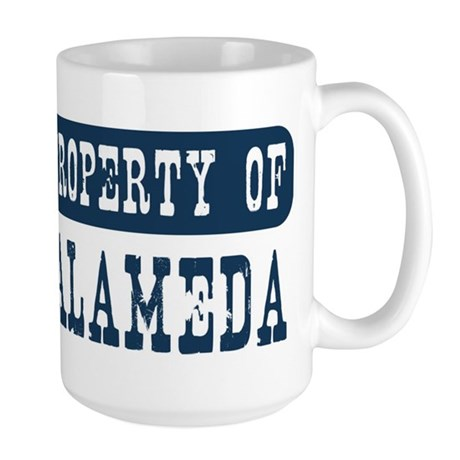 Property of Alameda Large Mug